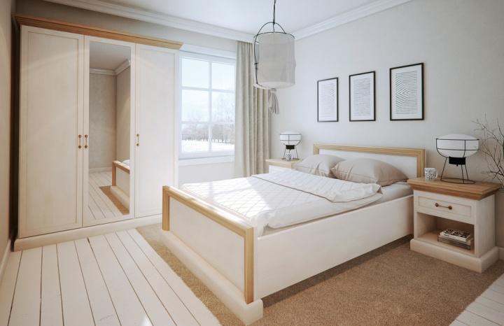 a95c552938171 Vidiecka manželská posteľ ROYAL L1   sedacky-pohovky.sk